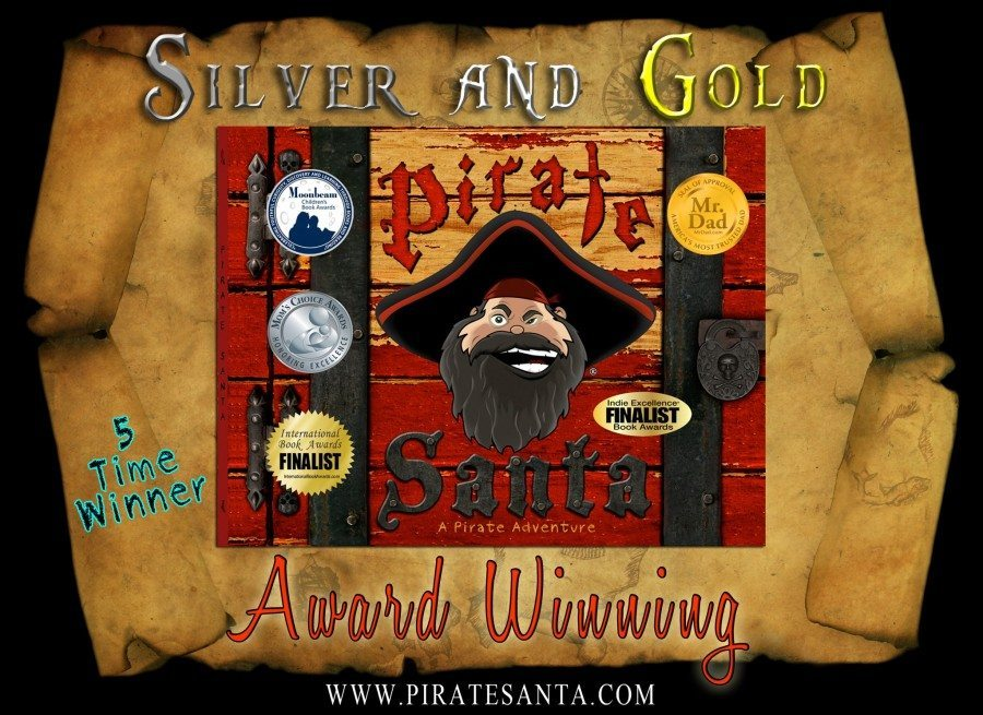 Pirate Santa 5 Time Award Winning Kid's Book