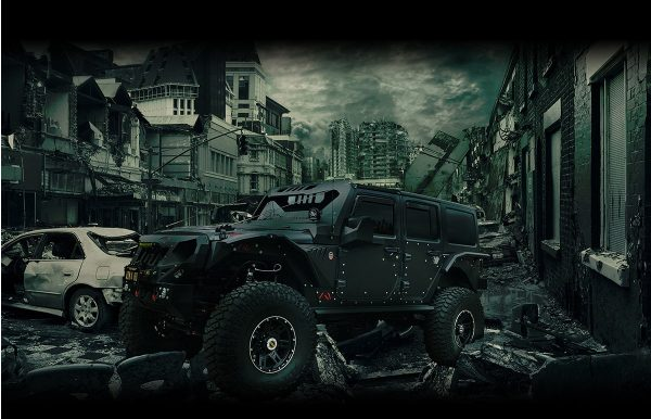 zombie rated jeep