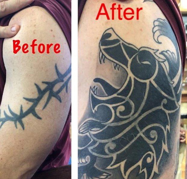 coverup-tribal-tattoo-capt-davey-los angeles tattoo