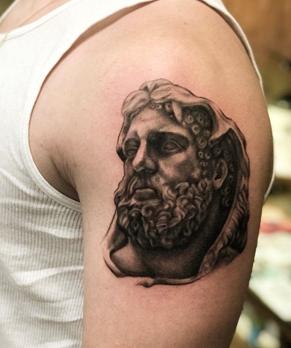 jim down los angeles tattoo artist black white realism