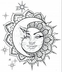 Jose Menendez Drawing Sun Face