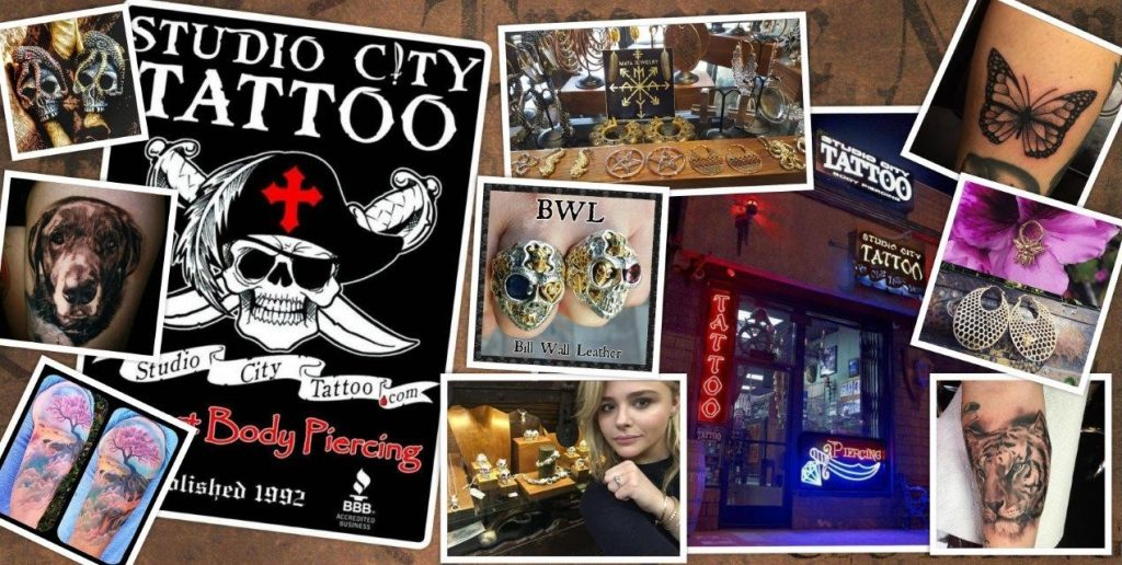 Voted Best of Los Angeles Studio City Tattoo