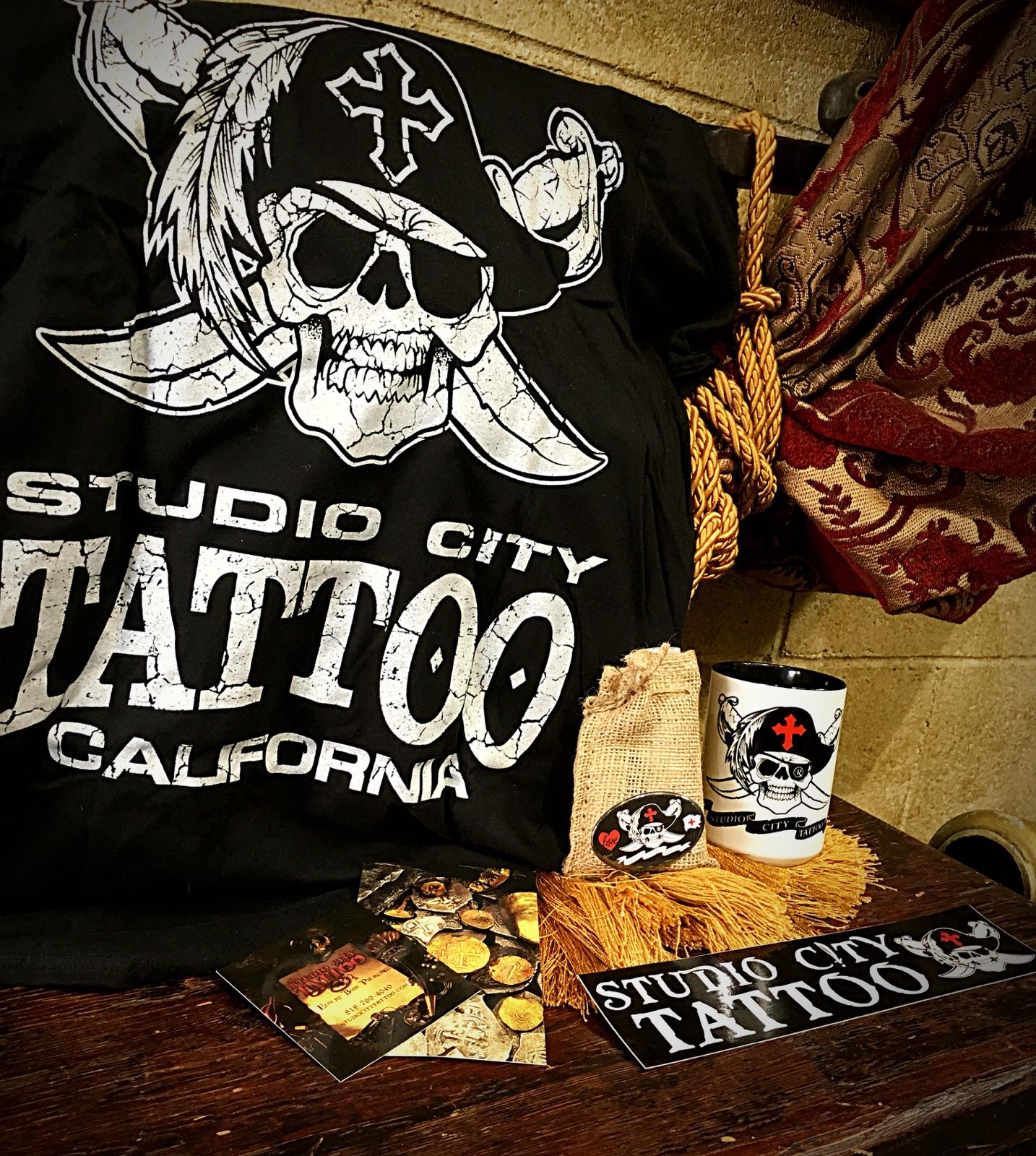 free Studio City tattoo Shirt gift certificate