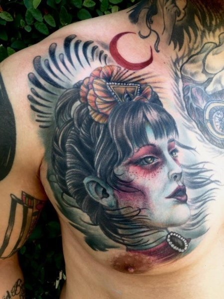 mike erwin tattoo work