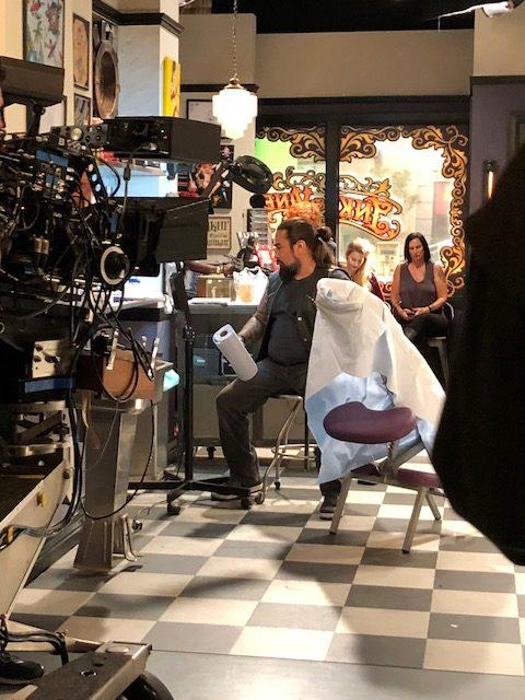 tattoo shop technical adviser for film
