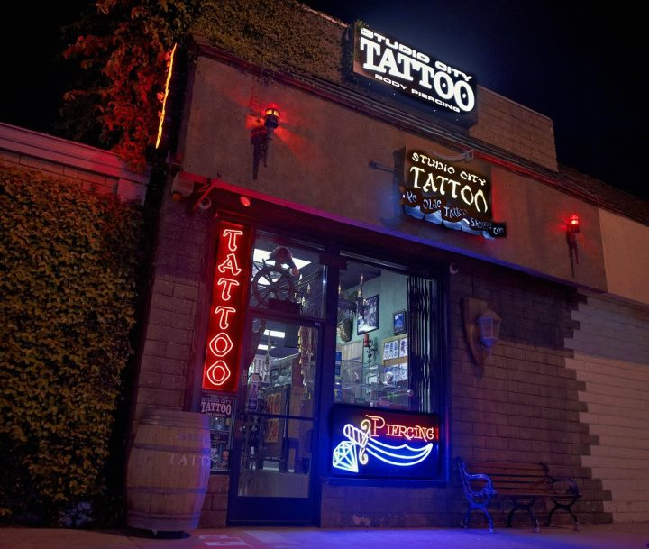 timeless Los Angeles Tattoo SHOP parlor