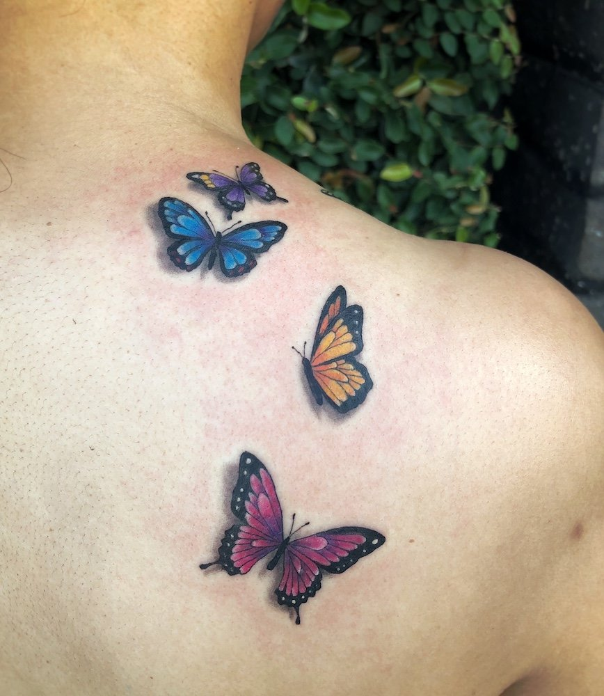 butterflies make timeless tattoo ideas studo city tattoo los angeles