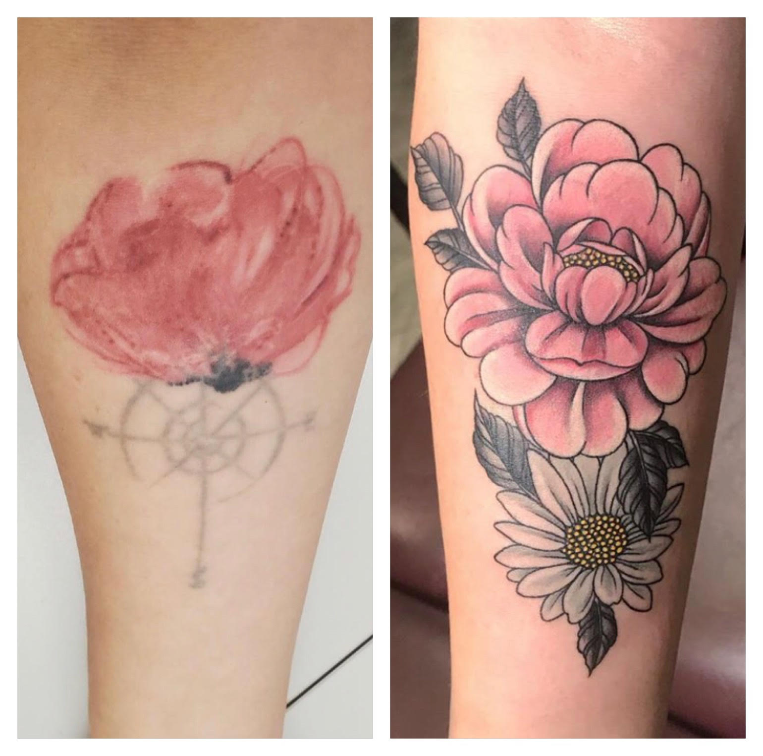 Flower Cover Up Jim Down