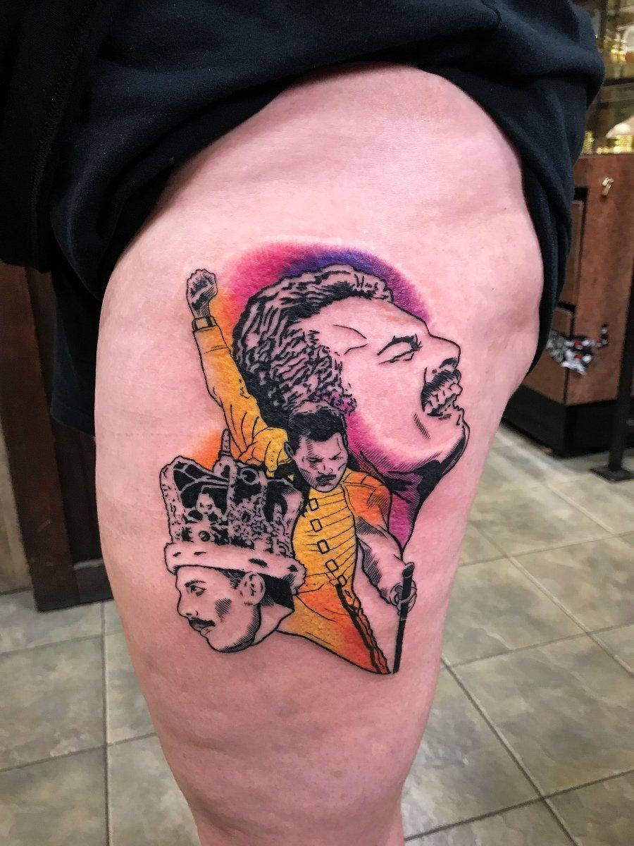 freddiemercury tattoo