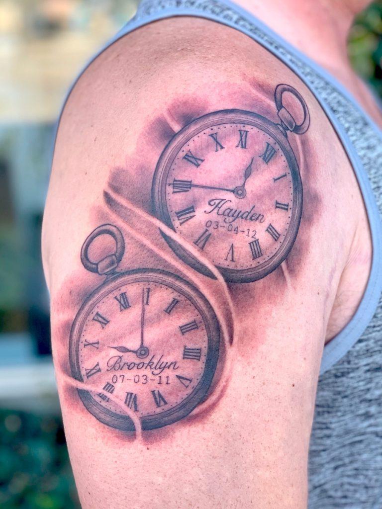 danny dunbar los angeles tattoo artist