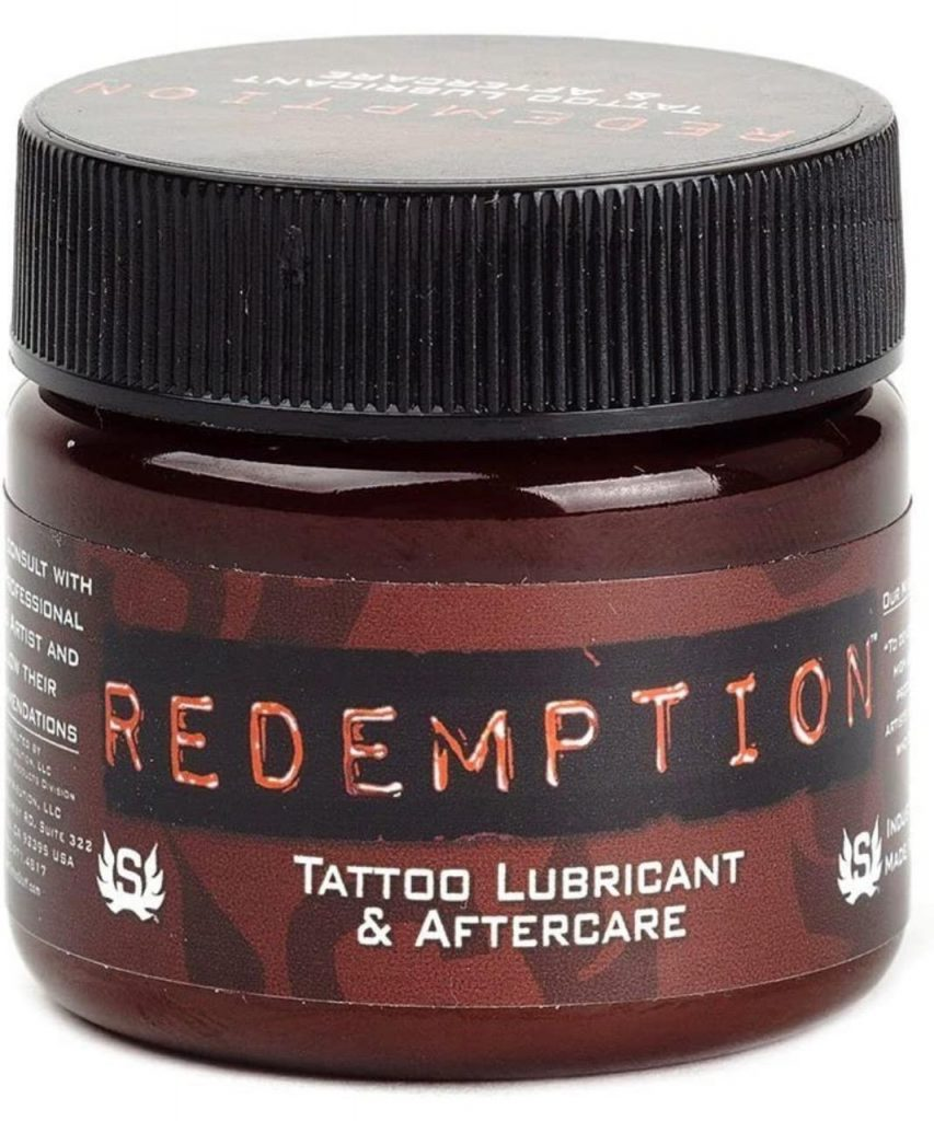 redemption tattoo lubricant