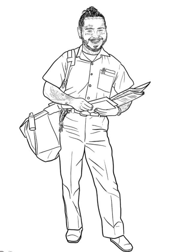 Jim Down drawing