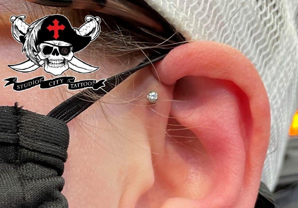 ear piercing forward helix marv santos los angeles