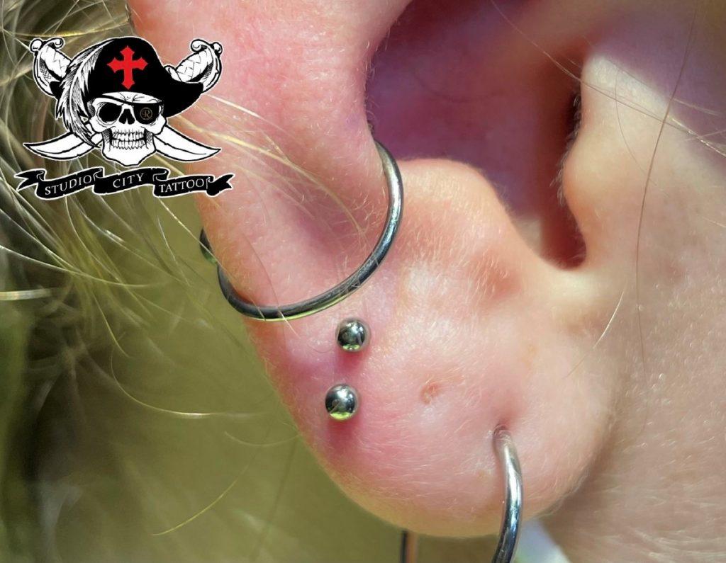 marv santos orbital ear piercing los angeles