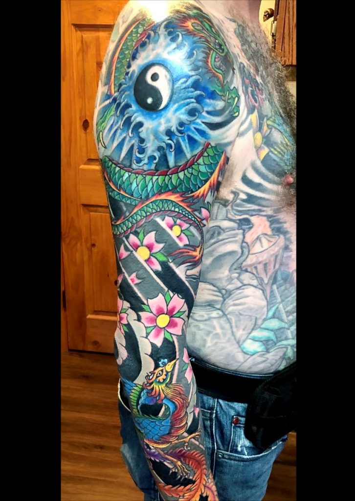 Captn Dave traditional tattoo artist studio city tattoo